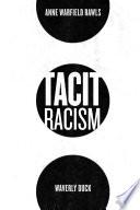 Tacit Racism Book PDF
