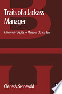 Traits of a Jackass Manager
