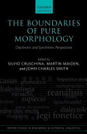 The Boundaries of Pure Morphology