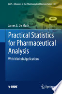 Practical Statistics for Pharmaceutical Analysis