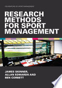 Research Methods for Sport Management Book