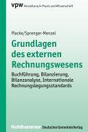 Grundlagen des externen Rechnungswesens: Buchführung, ...