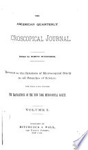 The American Quarterly Microscopical Journal