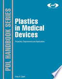 Plastics in Medical Devices Book