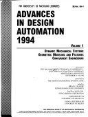 Advances in Design Automation, 1994