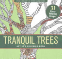 Tranquil Trees Adult Coloring Book (31 Stress-Relieving Designs)