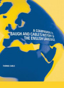 A Companion To Baugh And Cable S History Of The English Language