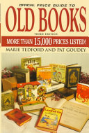 The Official Price Guide to Old Books