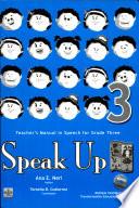 Speak Up 3 Teacher S Manual1st Ed 2007 Book