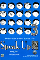 Speak Up 3 Teacher's Manual1st Ed. 2007 ebook
