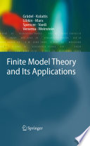 Finite Model Theory and Its Applications Book