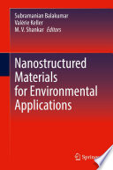 Nanostructured Materials for Environmental Applications