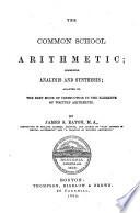 The Common School Arithmetic