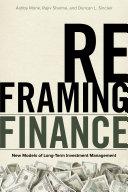 Reframing Finance