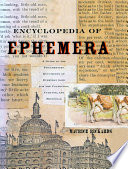Encyclopedia Of Ephemera