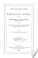The Golden Book of English Song