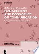 Management and Economics of Communication