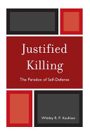 Pdf Justified Killing