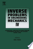 Inverse Problems in Engineering Mechanics IV Book