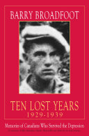 Ten Lost Years, 1929-1939