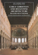 Early Christian and Byzantine Architecture