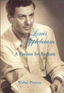 Louis Applebaum Pdf