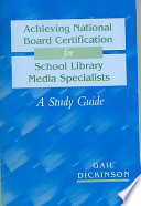 Achieving National Board Certification For School Library Media Specialists Book PDF