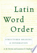 Latin Word Order