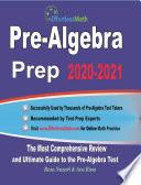 Pre Algebra Prep 2020 2021
