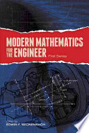 Modern Mathematics For The Engineer First Series