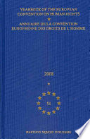 Yearbook of the European Convention on Human Rights 2008