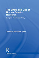 The Limits and Lies of Human Genetic Research Pdf/ePub eBook