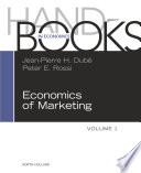 Handbook of the Economics of Marketing