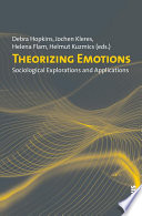Theorizing Emotions Book