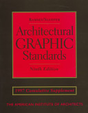 Architectural Graphic Standards, 1997 Cumulative Supplement
