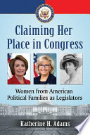 Claiming Her Place in Congress