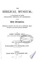 The biblical museum  Old Testament Book