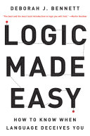 Logic Made Easy: How to Know When Language Deceives You Pdf/ePub eBook