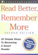 Read Better, Remember More ebook