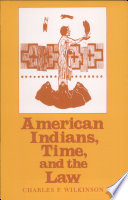 American Indians  Time  and the Law