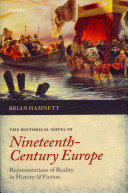 The Historical Novel in Nineteenth Century Europe