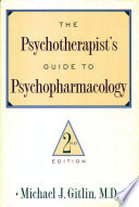 Psychotherapist S Guide To Psychopharmacology