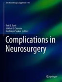 Complications in Neurosurgery Book