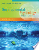 Developmental Psychology  Childhood and Adolescence