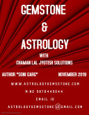 Gemstone & Astrology with Chaman Lal Jyotish Solutions