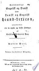 Fuldst  ndigt engelsk og dansk samt dansk og engelsk Haand Lexicon  2   forbedret Udg