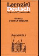 Lernziel Deutsch