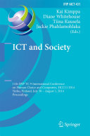 ICT and Society Pdf/ePub eBook