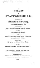 A Survey of Staffordshire ebook