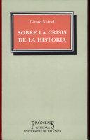 Sobre la crisis de la historia